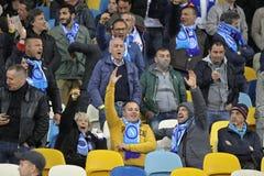 UEFA欧罗巴同盟半决赛Dnipro对拿坡里 图库摄影