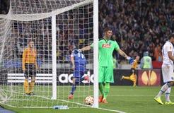 UEFA欧罗巴同盟半决赛Dnipro对拿坡里 库存照片