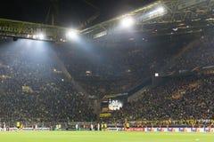 UEFA欧罗巴在多特蒙德足球俱乐部之间的联赛对PAOK 图库摄影