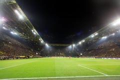 UEFA欧罗巴在多特蒙德足球俱乐部之间的联赛对PAOK 库存照片