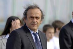 UEFA Προέδρου platini του Michel Στοκ εικόνα με δικαίωμα ελεύθερης χρήσης