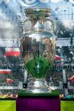 UEFA τροπαίων φλυτζανιών Στοκ εικόνες με δικαίωμα ελεύθερης χρήσης