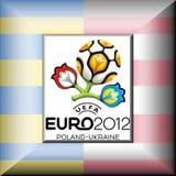 uefa евро 2012 Стоковое Изображение