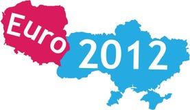 uefa 2012 мест Стоковая Фотография RF