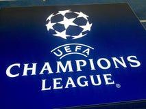 UEFA Champions'同盟 免版税库存图片