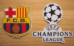 UEFA Champions League fotografía de archivo