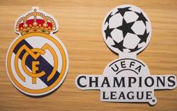 UEFA Champions League imágenes de archivo libres de regalías