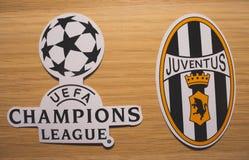 UEFA Champions League imagen de archivo
