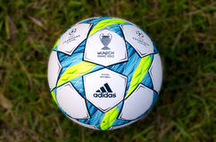UEFA Champions League 2012 Ball - Final Royalty Free Stock Photos