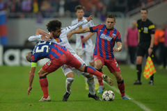 Uefa Champions League action Stock Photos