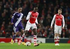 UEFA Champions League Arsenal v Anderlecht Stock Photography