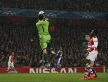 UEFA Champions League Arsenal v Anderlecht Royalty Free Stock Photos