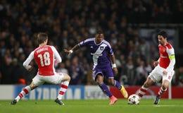 UEFA Champions League Arsenal v Anderlecht Stock Images