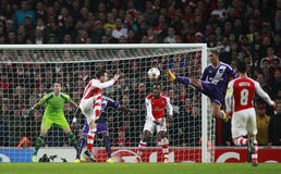 UEFA Champions League Arsenal v Anderlecht Stock Photography
