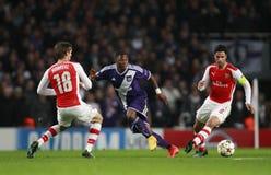 UEFA Champions League Arsenal v Anderlecht Stock Photos
