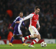 UEFA Champions League Arsenal v Anderlecht Royalty Free Stock Images