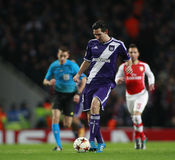 UEFA Champions League Arsenal v Anderlecht Stock Image