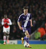UEFA Champions League Arsenal v Anderlecht Stock Photos