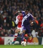 UEFA Champions League Arsenal v Anderlecht Royalty Free Stock Photography