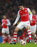 UEFA Champions League Arsenal v Anderlecht Stock Images