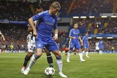 UEFA Champions League Chelsea β ποδοσφαίρου Juventus Στοκ φωτογραφία με δικαίωμα ελεύθερης χρήσης