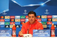 UEFA Champions League Dynamo Kiev v Benfica: press-conference Stock Photography