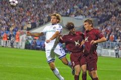 UEFA Champions League: Dynamo Kiev v Rubin Kazan Stock Images