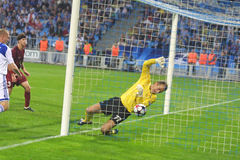 UEFA Champions League: Dynamo Kiev v Rubin Kazan Royalty Free Stock Photo