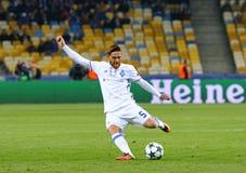 UEFA Champions League: FC δυναμό Kyiv β Benfica Στοκ Φωτογραφία