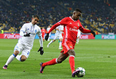 UEFA Champions League: FC Dynamo Kyiv v Benfica Stock Images