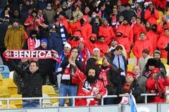 UEFA Champions League: FC Dynamo Kyiv v Benfica Royalty Free Stock Photography