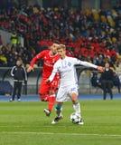 UEFA Champions League: FC Dynamo Kyiv v Benfica Stock Image