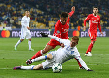 UEFA Champions League: FC Dynamo Kyiv v Benfica Royalty Free Stock Image