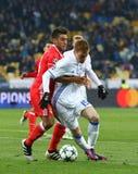 UEFA Champions League: FC Dynamo Kyiv v Benfica Stock Photos