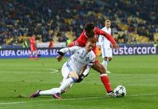 UEFA Champions League: FC Dynamo Kyiv v Benfica Royalty Free Stock Photos