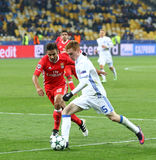 UEFA Champions League: FC Dynamo Kyiv v Benfica Royalty Free Stock Photo