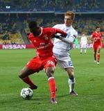 UEFA Champions League: FC Dynamo Kyiv v Benfica Stock Photo