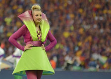 2015 UEFA Champions League Final Ceremony Stock Photography