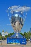UEFA Champions League football Final 2018 CUP, Kiev, Ukraine, Stock Image