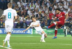 UEFA Champions League Final 2018 Real Madrid v Liverpool Stock Images