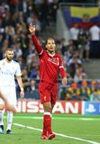 UEFA Champions League Final 2018 Real Madrid v Liverpool Stock Photo