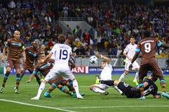 UEFA Champions League game Dynamo Kyiv vs Porto Royalty Free Stock Photography