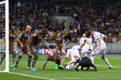 UEFA Champions League game Dynamo Kyiv vs Porto Stock Photo