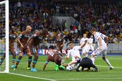 UEFA Champions League game Dynamo Kyiv vs Porto Stock Photo