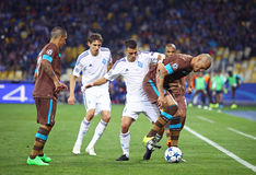 UEFA Champions League game Dynamo Kyiv vs Porto Royalty Free Stock Photo