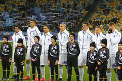 UEFA Champions League game FC Dynamo Kyiv v Besiktas Stock Photography
