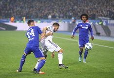 UEFA Champions League game FC Dynamo Kyiv vs Chelsea Royalty Free Stock Images