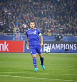 UEFA Champions League game FC Dynamo Kyiv vs Chelsea Royalty Free Stock Photo