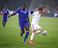 UEFA Champions League game FC Dynamo Kyiv vs Chelsea Stock Image