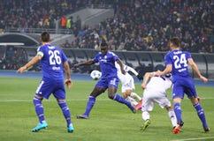 UEFA Champions League game FC Dynamo Kyiv vs Chelsea Royalty Free Stock Photos